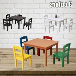 Perfect Gift MDF Dining Table Chairs Set for Kids Children L