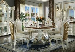 Acme Furniture Picardy 7 Piece Dining Room Set