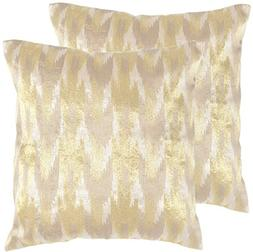 Safavieh Pillow Collection Throw Pillows, 20 by 20-Inch, Boh