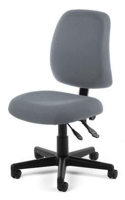 OFM Posture Series Armless Mid Back Task Chair - Stain Resis