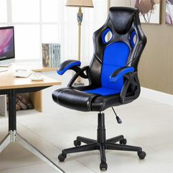 PU Leather Bucket Seat Executive Racing Style Office Chair 3