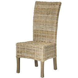 Quaker Unfinished Natural Wicker Side Chairs