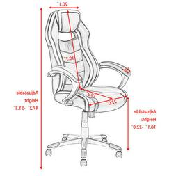 Racing Car Style High Back Office Computer chair