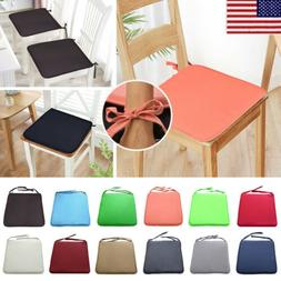 Removable Dining Seat Pad Tie On Chair Cushion Cover Home Pa