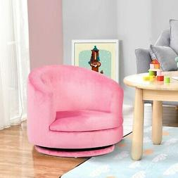 Rotating Arm Chair in Pink for your Little Girls Room