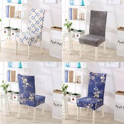 Set of 4 Chair Cover for Dining Room Wedding Banquet Stretch