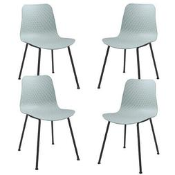 set of 4 dining chair modern mid