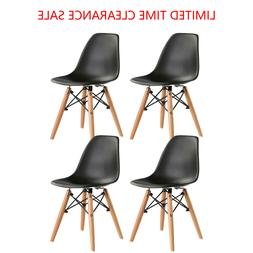 Set of 4 Dining Chair Pre Assembled Mid-Century Modern Style