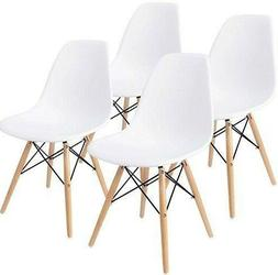 Set of 4 Dining Side Chair Pre Assembled Mid-Century Modern