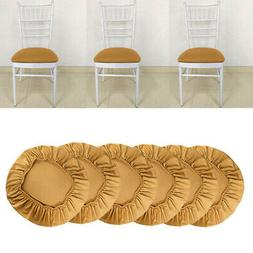 Set of 6 Stretch Chair Seat Cover Wedding Dining Room Chair