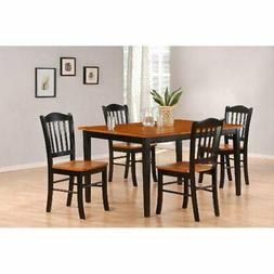 shaker 5 piece dining table set