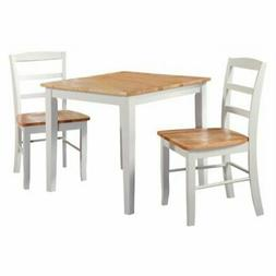 International Concepts Silerton 3 Piece Dining Table Set wit