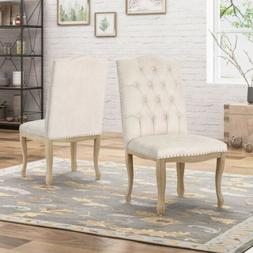 Sofia Traditional Upholstered Dining Chairs