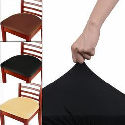Soft Stretch Removable Easy Fit Dining Chair Seat Covers Pro