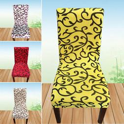 Soft Stretch Spandex Chair Covers Slipcover For Dining Room