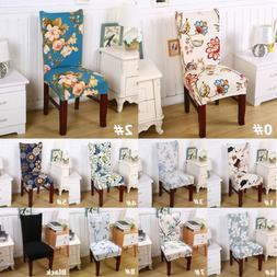 Spandex Chair Protective Seat Covers for Dining Room Wedding