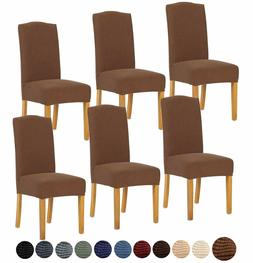 Stretch Dining Chair Cover for Home Decor Slipcover Fleece a