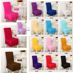 Stretch Spandex Dining Room Wedding Banquet Chair Cover Deco
