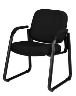 OFM 403-805 Reception Chair with Arms - Fabric Guest Chair,