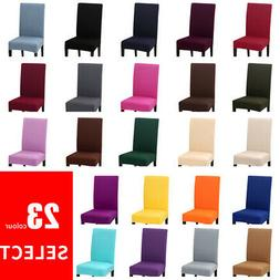 US Stretch Dining Chair Covers Slipcovers Removable Chair Pr