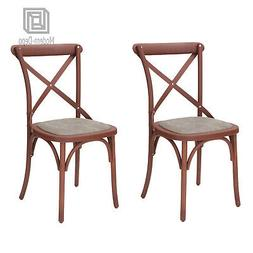 Vintage-Style Plastic Dining Chair Side Chairs for Living Ro