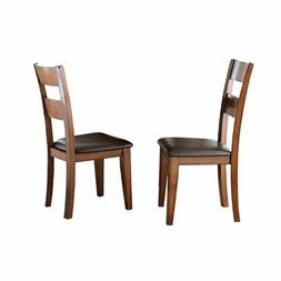 Steve Silver Zappa Side Dining Chair - Set of 2 - Medium Che